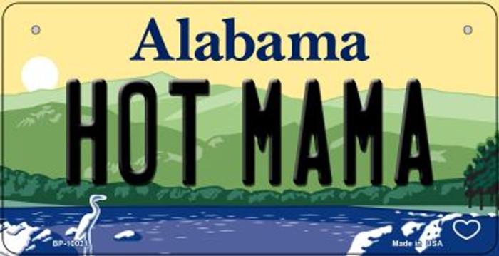 Hot Mama Alabama Novelty Metal Bicycle Plate BP-10021