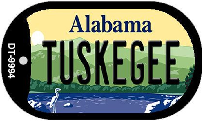 Tuskegee Alabama Novelty Metal Dog Tag Necklace DT-9994