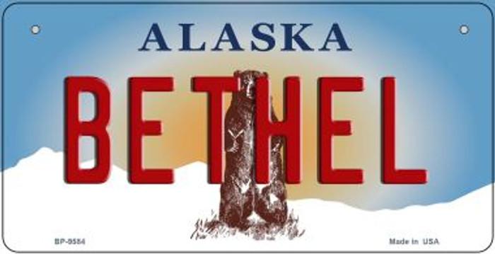 Bethel Alaska Novelty Metal Bicycle Plate BP-9584