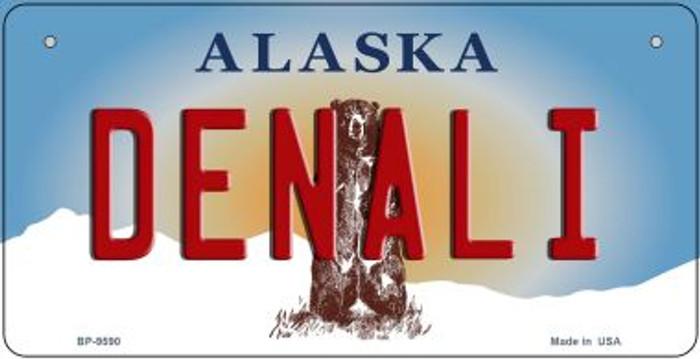 Denali Alaska Novelty Metal Bicycle Plate BP-9590