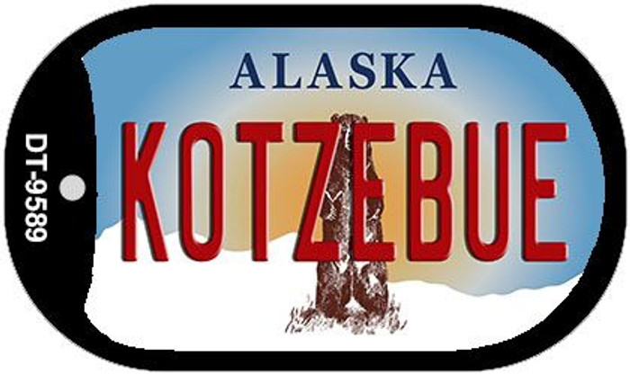 Kotzebue Alaska Novelty Metal Dog Tag Necklace DT-9589