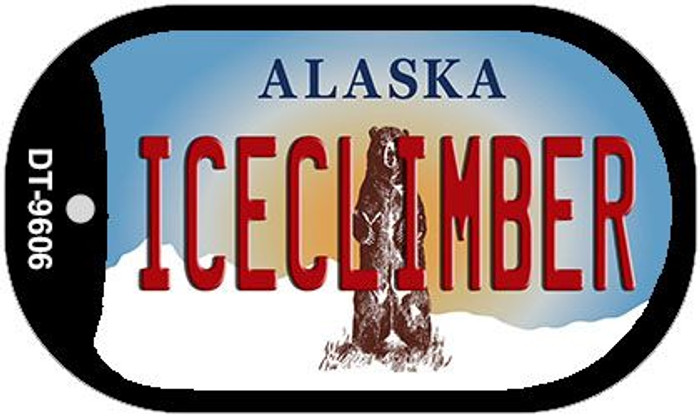 Iceclimber Alaska Novelty Metal Dog Tag Necklace DT-9606
