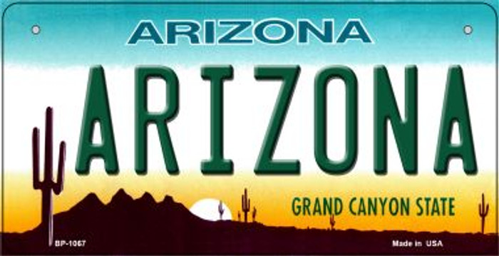 Arizona Novelty Metal Bicycle Plate BP-1067