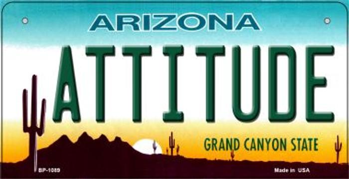 Attitude Arizona Novelty Metal Bicycle Plate BP-1089
