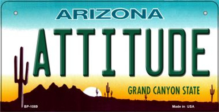 Attitude Arizona Novelty Metal Bicycle Plate BP-1089