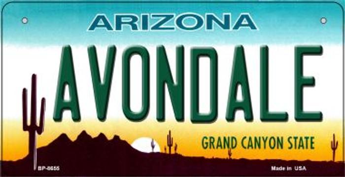 Avondale Arizona Novelty Metal Bicycle Plate BP-8655