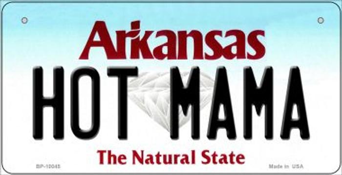 Hot Mama Arkansas Novelty Metal Bicycle Plate BP-10045