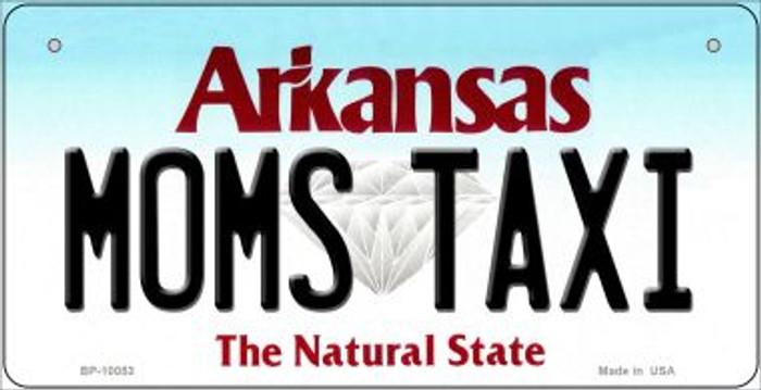 Moms Taxi Arkansas Novelty Metal Bicycle Plate BP-10053