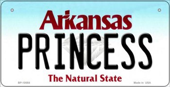 Princess Arkansas Novelty Metal Bicycle Plate BP-10054