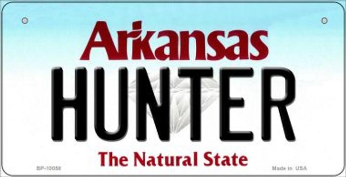 Hunter Arkansas Novelty Metal Bicycle Plate BP-10058