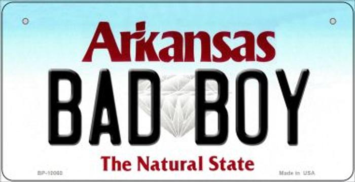Bad Boy Arkansas Novelty Metal Bicycle Plate BP-10060