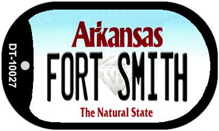 Fort Smith Arkansas Novelty Metal Dog Tag Necklace DT-10027