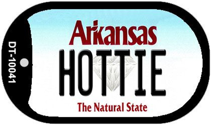 Hottie Arkansas Novelty Metal Dog Tag Necklace DT-10041