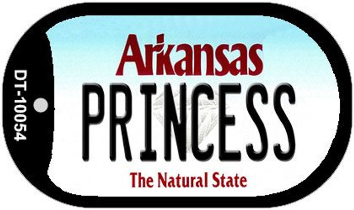 Princess Arkansas Novelty Metal Dog Tag Necklace DT-10054