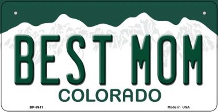 Best Mom Colorado Novelty Metal Bicycle Plate BP-9941