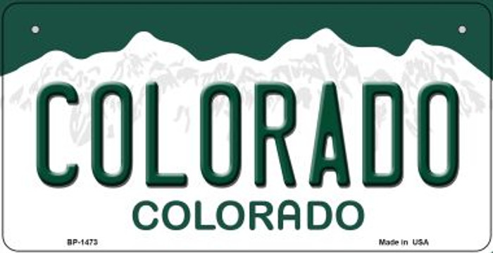 Colorado Novelty Metal Bicycle Plate BP-1473