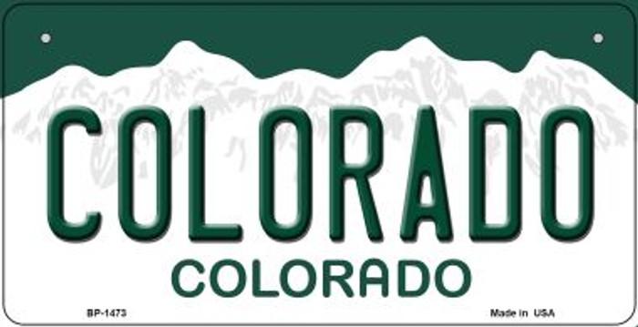 Colorado Novelty Metal Bicycle Plate BP-1473