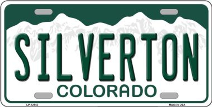 Silverton Colorado Novelty Metal License Plate LP-12143