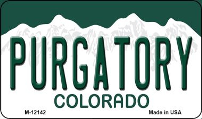 Purgatory Colorado Novelty Metal Magnet M-12142