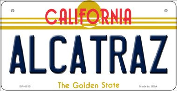 Alcatraz California Novelty Metal Bicycle Plate BP-4889