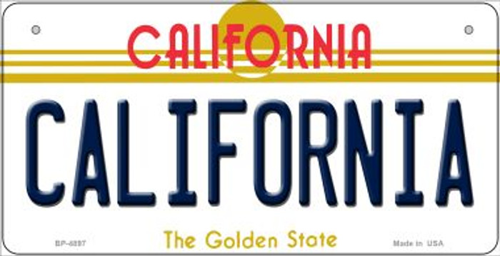 California California Novelty Metal Bicycle Plate BP-4897
