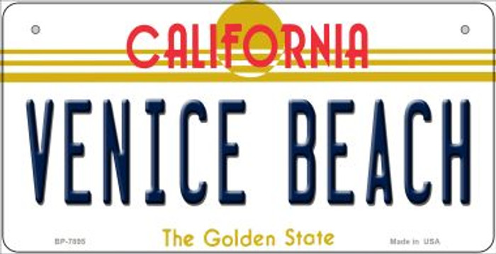 Venice Beach California Novelty Metal Bicycle Plate BP-7895