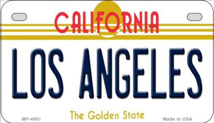 Los Angeles California Novelty Metal Motorcycle Plate MP-4901