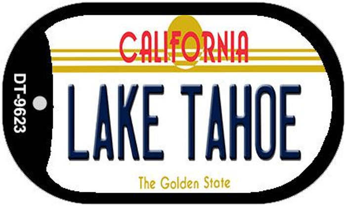 Lake Tahoe California Novelty Metal Dog Tag Necklace DT-9623