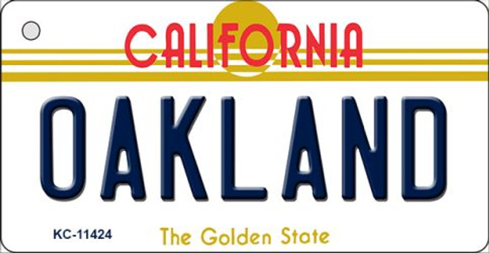 Oakland California Novelty Metal Key Chain KC-11424