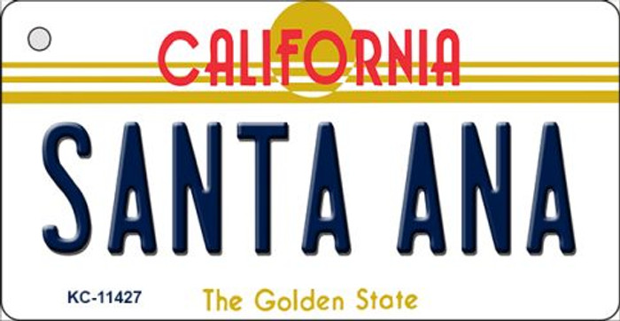 Santa Ana California Novelty Metal Key Chain KC-11427