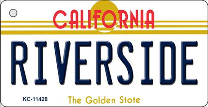 Riverside California Novelty Metal Key Chain KC-11428