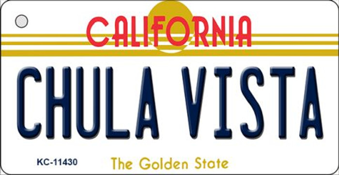Chula Vista California Novelty Metal Key Chain KC-11430
