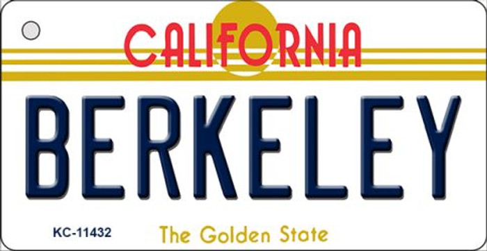 Berkeley California Novelty Metal Key Chain KC-11432