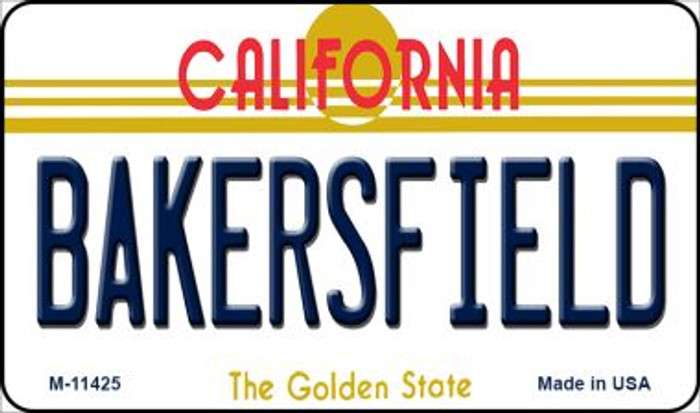 Bakersfield California Novelty Metal Magnet M-11425