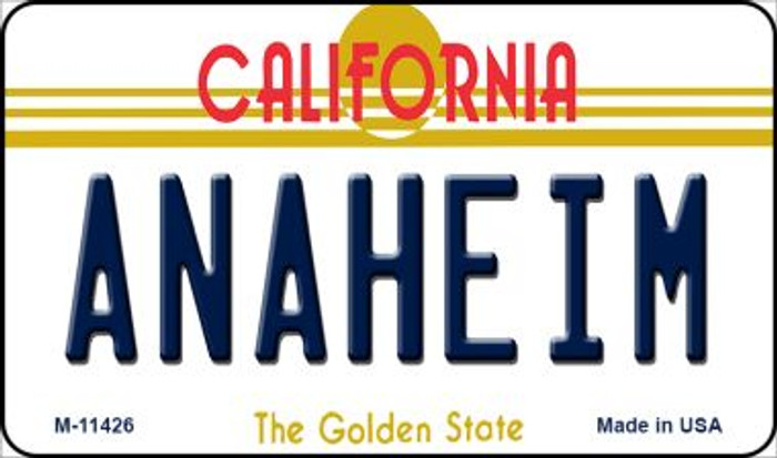 Anaheim California Novelty Metal Magnet M-11426