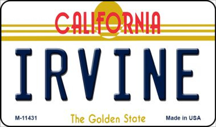 Irvine California Novelty Metal Magnet M-11431