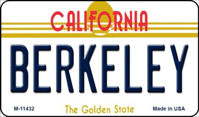Berkeley California Novelty Metal Magnet M-11432