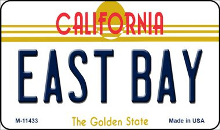 East Bay California Novelty Metal Magnet M-11433