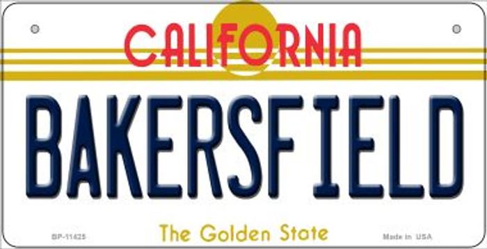 Bakersfield California Novelty Metal Bicycle Plate BP-11425