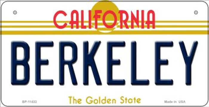 Berkeley California Novelty Metal Bicycle Plate BP-11432