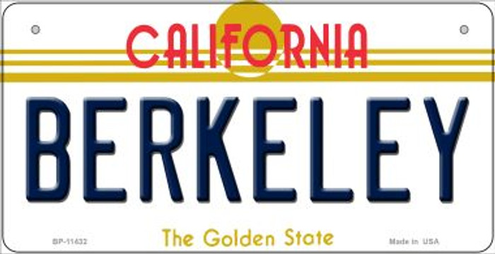 Berkeley California Novelty Metal Bicycle Plate BP-11432