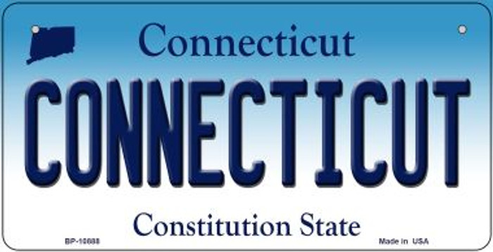Connecticut Novelty Metal Bicycle Plate BP-10888