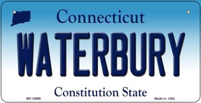 Waterbury Connecticut Novelty Metal Bicycle Plate BP-10898