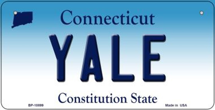Yale Connecticut Novelty Metal Bicycle Plate BP-10899