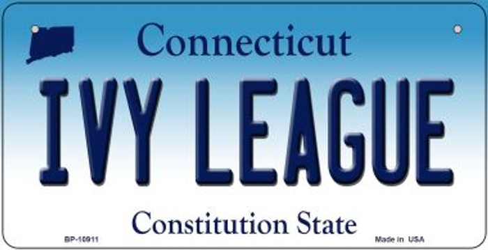 Ivy League Connecticut Novelty Metal Bicycle Plate BP-10911