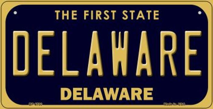 Delaware Novelty Metal Bicycle Plate BP-6700