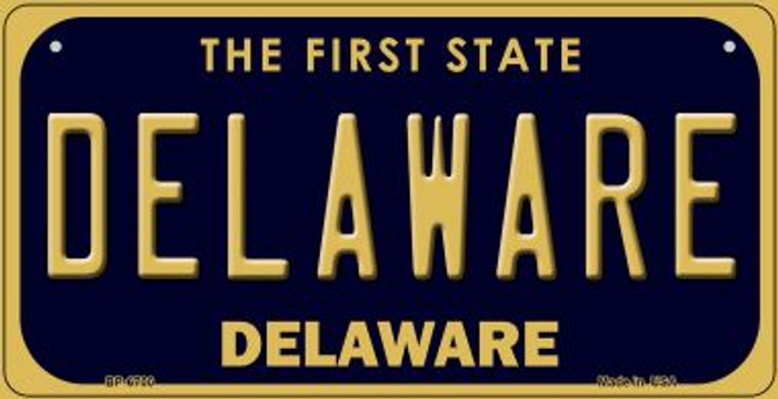 Delaware Novelty Metal Bicycle Plate BP-6700