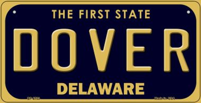 Dover Delaware Novelty Metal Bicycle Plate BP-6703