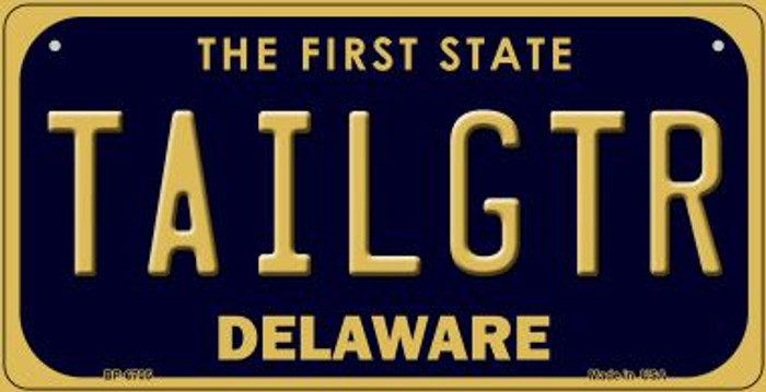 Tailgtr Delaware Novelty Metal Bicycle Plate BP-6705