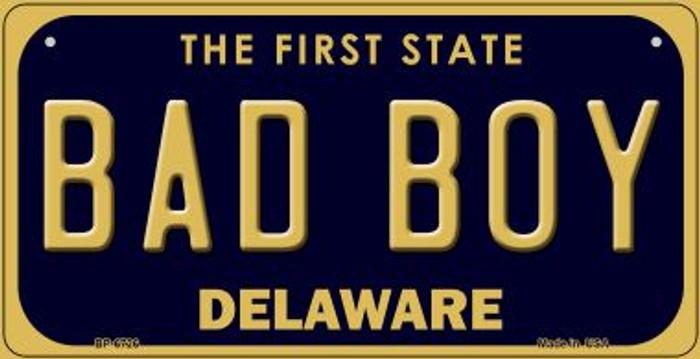 Bad Boy Delaware Novelty Metal Bicycle Plate BP-6726